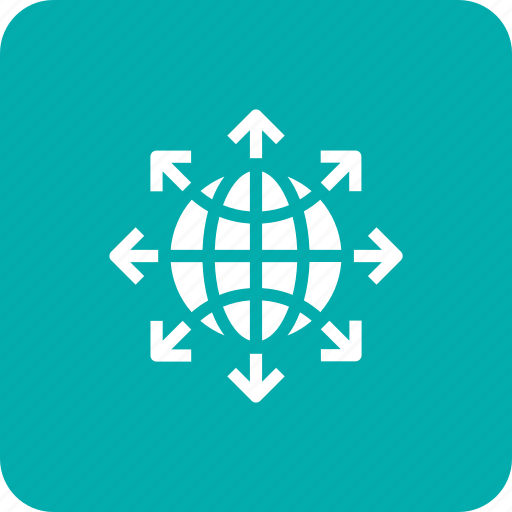 globe, internet, network, share, sharing, social, web icon