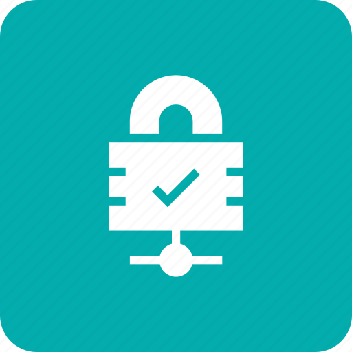 cant, lock, share, web icon