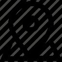 location, locator, miscellaneous, orientation icon icon