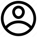businessman icon, employee, male, person, user icon icon