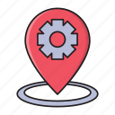 development, location, map, pin, setting
