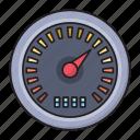 gauge, meter, performance, speed, web