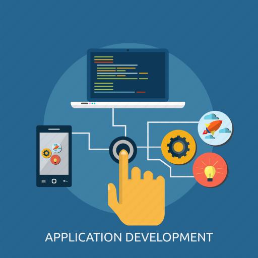 app, application, coding, concept, development, program, software icon