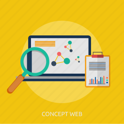 browsing, concept, searching, web, website icon
