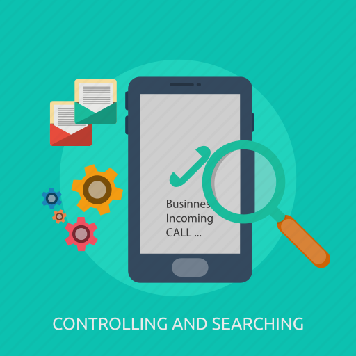 aplications, app, concept, controlling, searching, system icon