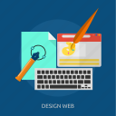 artwork, design, layer, web, website icon