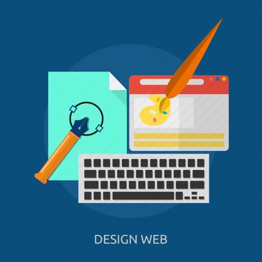 artwork, design, layer, web, website icon