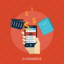 domain, e-commerce, mobile commerce, page, web, website icon