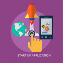 app, application, launching, software, startup, system
