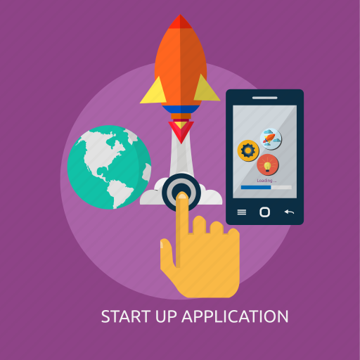 app, application, launching, software, startup, system icon
