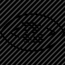 back, end, eye, programming, script icon