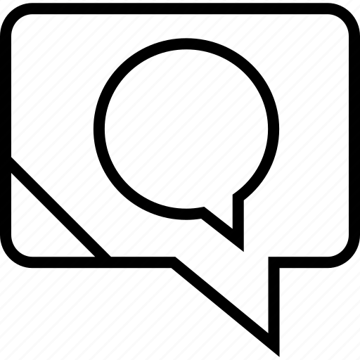bubble, talk, talking icon