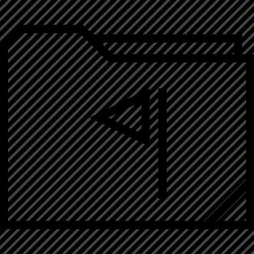 flag, folder, save icon