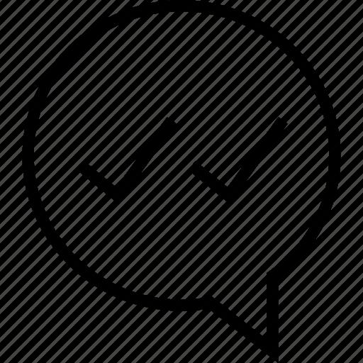 good, ok, talk icon