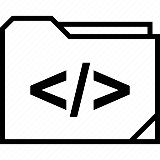 development, folder, web icon
