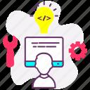 developer, script, tools, web, web design, web development icon