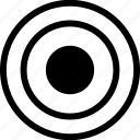 business, development, goal, target, web icon