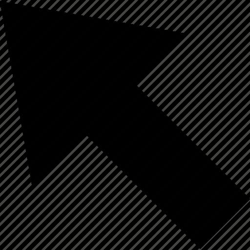 arrow, business, development, mouse, track, web icon