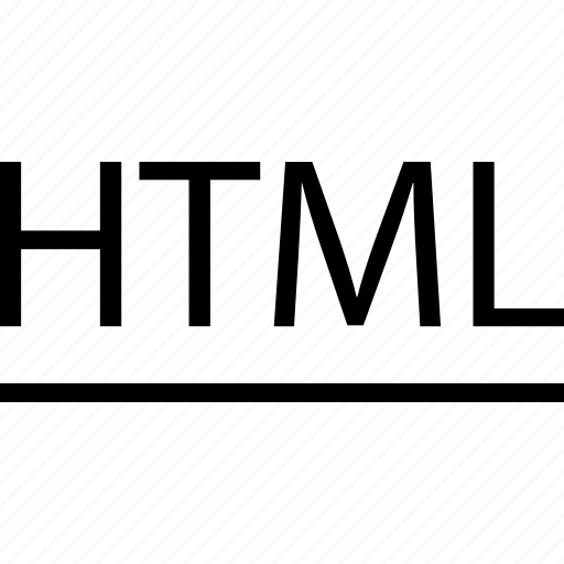 business, development, html, line, web icon