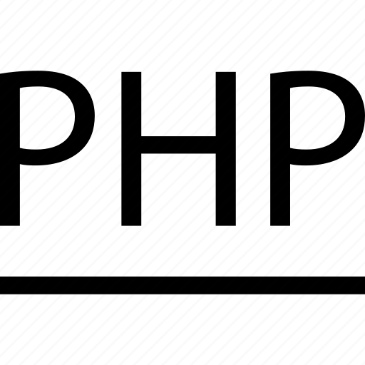 business, development, line, php, web icon
