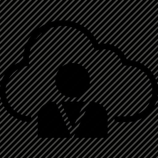 business, cloud, development, save, user, web icon