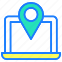 direction, location, location marker icon