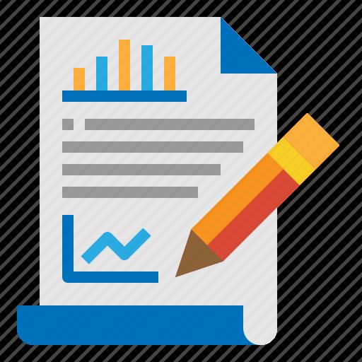 analysis, content, copywriting, seo icon