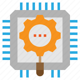 analysis, development, optimize, system icon