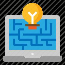 development, optimize, solution, web icon