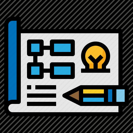 creative, design, plan, planning icon