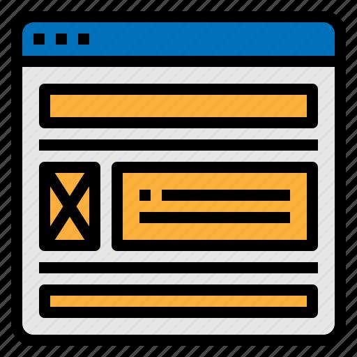 design, development, layout, website icon