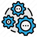 maintenance, repair, service, settings icon