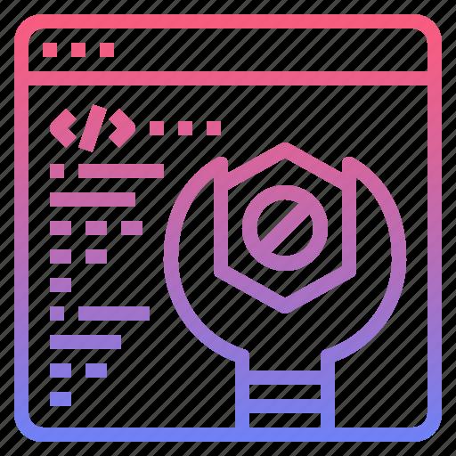 maintenance, repair, service, settings icon