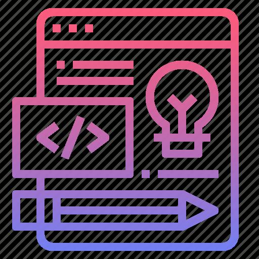 design, development, web, website icon
