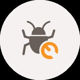 bug, bug fixing, fix, repair, seo, spider, tools icon