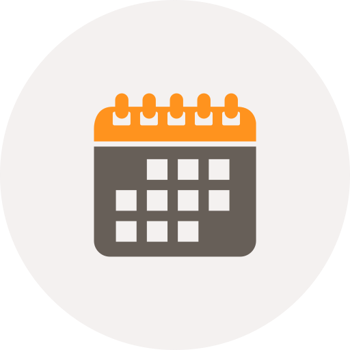 appointment, calendar, date, month, planner, reminder, schedule icon
