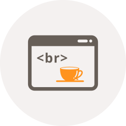 break, code, coding, coffee, coffee cup, html, window icon