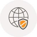 browser, globe, internet, safety, security, shield, world