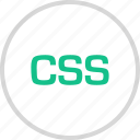 css, html, sheet, style icon