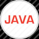 challenge, code, java, language, script icon