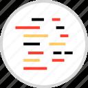 code, coding, language, script, tech icon