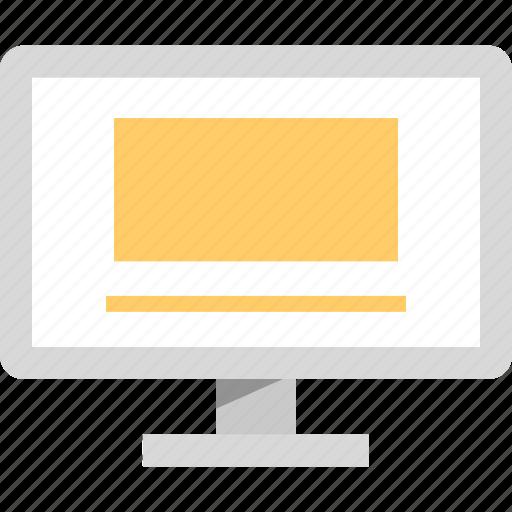 mac, mockup, pc, web icon