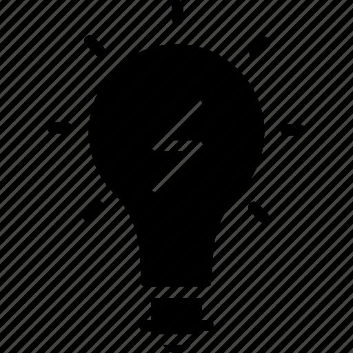 bulb, business, creativity, idea, think icon