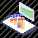 analytics, data analytics, data evaluation, data monitoring, data visualization icon