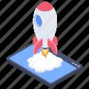 app launcher, smartphone launcher, software launcher, web launcher, website launcher icon