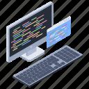 html, software development, web coding, web development, web programming icon