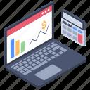 financial website, marketing website, online statistics, sales website, web analytics