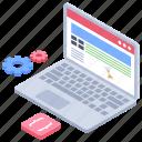 internet browsing, mobile browsing, searching online, social media, web browsing