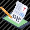 online copywriting, online scripting, online text, online typewriter, online writing