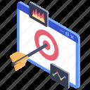 seo archery, seo mark, seo marketing, seo object, seo target icon